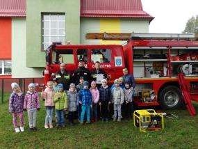 Wizyta Strażaków OSP w Przedszkolu