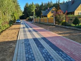 Budowa szlaku pieszo-jezdnego w Nożynie