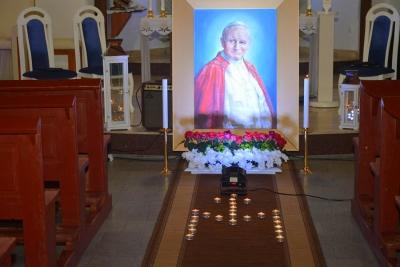 Wieczornica poświęcona św. Janowi Pawłowi II