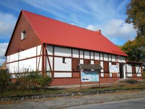 Remont wraz z modernizacją wejścia do świetlicy wiejskiej oraz zagospodarowanie terenu wokół budynku