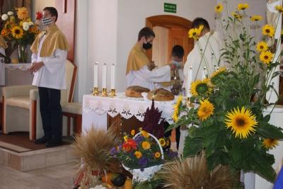 Dożynki parafialne  w Nożynie