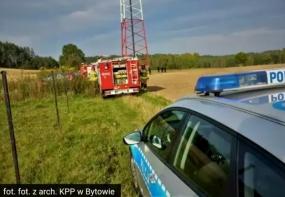 Strażacy ratowali 33 latka