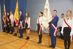 Nadanie Imienia Świętego Jana Pawła II Szkole Podstawowej w Nożynie